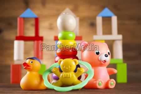 colorful alphabet blocks baby toy